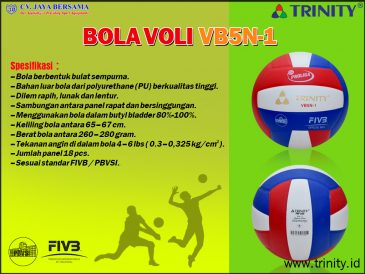 Bola Voli Trinity VB5N-1 - Toko Grosir Olahraga abce0dd851